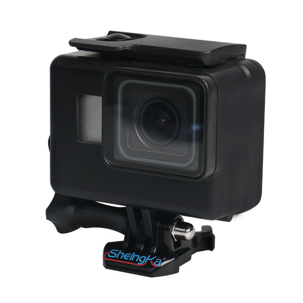 Wholesale Underwater Waterproof Case for GoPro Hero 6 5 7 Black Diving Protective Cover Housing Mount for Go Pro 6 5 7 Accessory