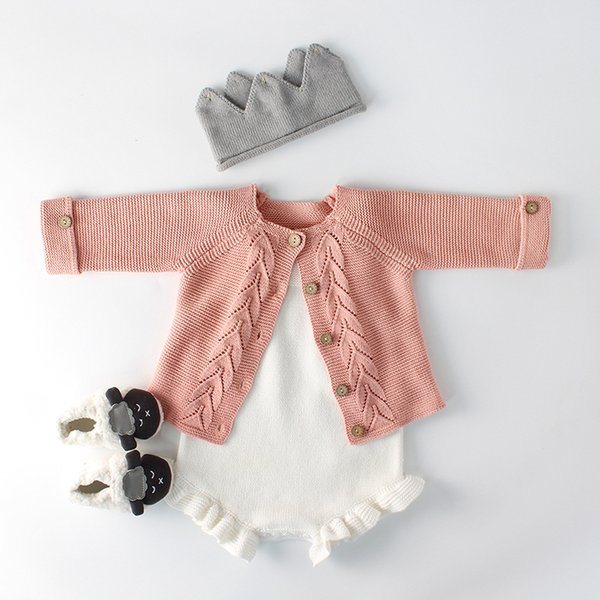 Baby Girl Sweater Children Boy Sweater Cardigan Jacket For Girls Knitted Top Kids Children Cardigan Clothing