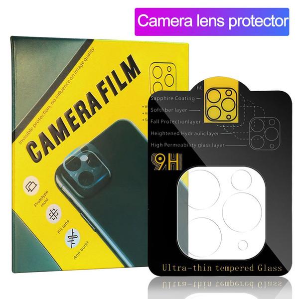 Caméra Film Verre trempé pour iPhone 11 écran Pro Camera Lens Max Protecteur PARFAITEMENT clair avec boîte au détail