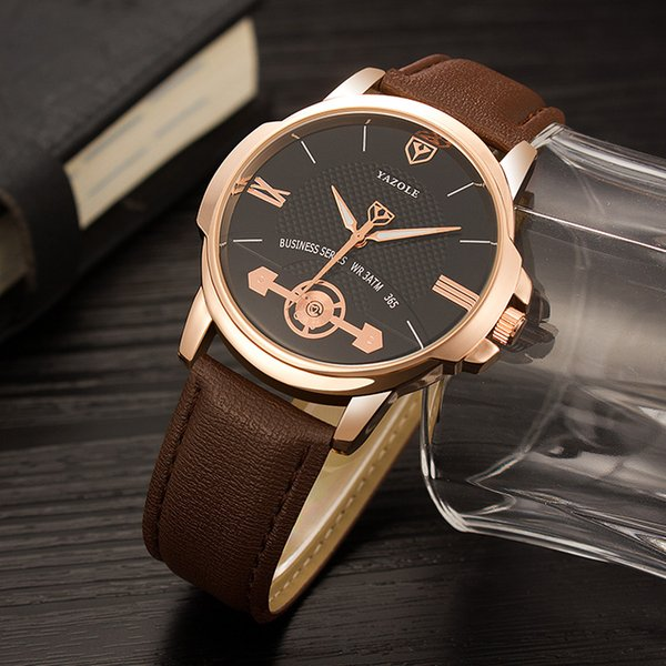 New Brand Quartz lovers Watches Men Dress Watches Leather Dress Wristwatches Fashion Casual Watches fashion import china