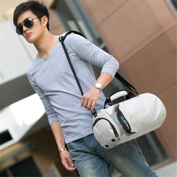 2019 Fitness Traveling Luggage with Shoes Pockets Men Travel Bags For Training Bag Women Yoga Bolsa Waterproof Duffel Totes S/L