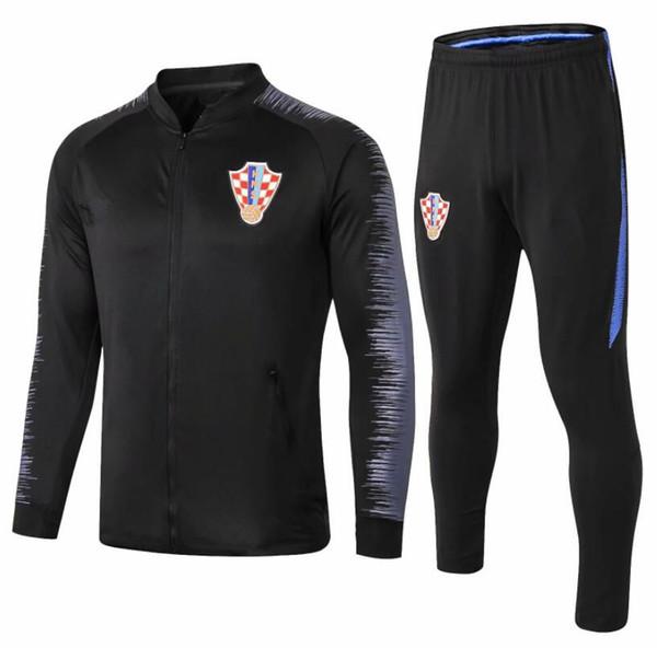 2018 2019 national team soccer jacket Tracksuit 18/19 MODRIC MANDZUKIC RAKITIC Football training suit Sportswear