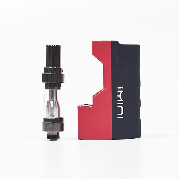 Imini Thick Oil Cartridges Vaporizer Battery Kit 500mAh Box Mod Battery 510 Thread For Liberty V1 Tank Wax Atomizer Vape Pen Starter Kits