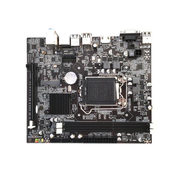 Freeshipping H110 LGA1151 Için Yeni Masaüstü PC Kurulu Anakart soket Destek 16 Grafik Kartı DDR3 Yükseltme USB3.0 VGA Sistemi Ana Kurulu