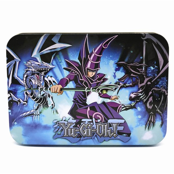 Yugioh Cards Metal Box Packing English Version 66 PCS/set The Strongest Damage Board Games Collection Cards Toy Kids toys DHL SS179