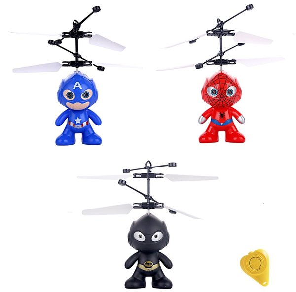 Original Fly Flashing Me Minion RC Helicopter Hand Control Toys Quadcopter RC Drone Ar.drone Ball With LED VS JJRC H36 (Super)