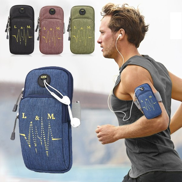Newly Universal Gym Sports Running Armband for iPhone 6s 7 8 Plus Phone Case Cover Holder Armband Case for iPhone X Samsung (Retail))