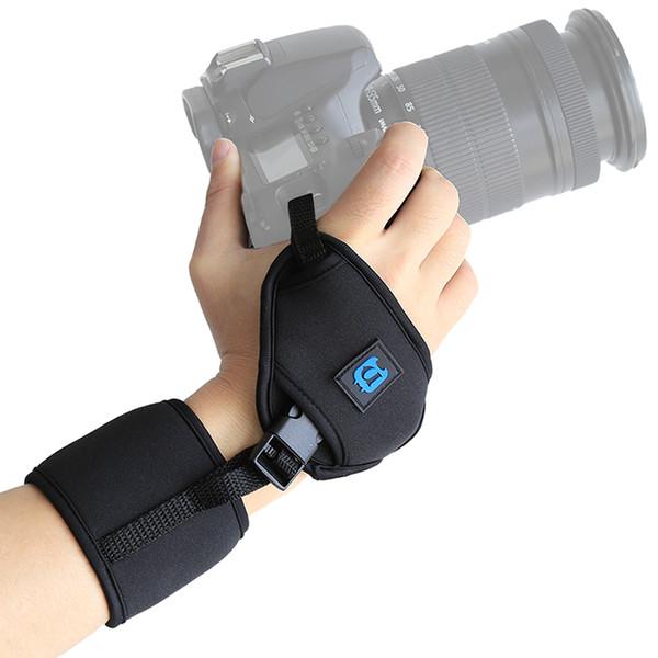 heap Camera Strap PULUZ Soft Neoprene Hand Grip Wrist Strap w/ Hand Belt Screw Plate Quick-release 1/4'' Screw for DSLR Cameras Sport Acc...