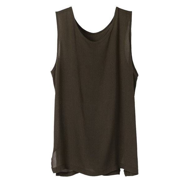 2019 Men's Fitness Vest Sleeveless Sports Tank Top Muscle Gym Wolf Men's Stringer Workout Strong Tanks Clothing 3 Color