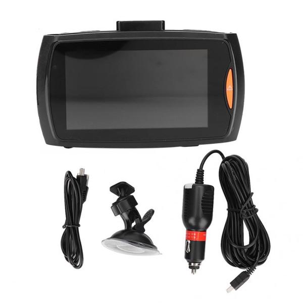 Car LCD 1080P G-sensor Vision GPS Video Camera Driving Recorder 2.7inch 1080p HD screen 720P HD Video Resolution Plastic + Metal car dvr
