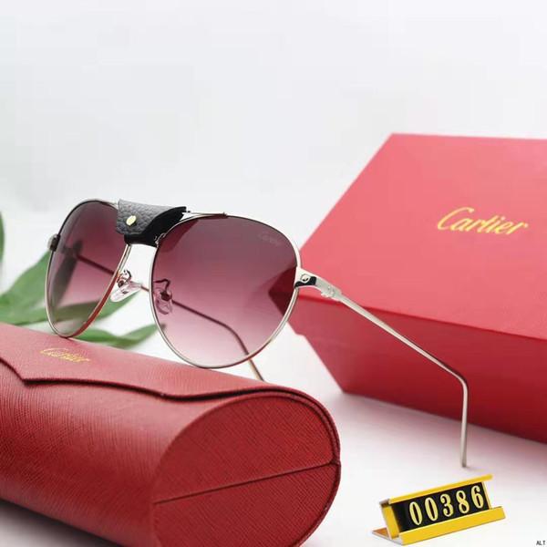 Мужские женские дизайнерские солнцезащитные очки роскошные солнцезащитные очки дизайнерские стекла Adumbral очки UV400 модель 00086 6 цветов опционально высокое качество с коробкой