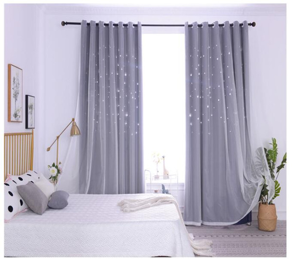Gray Yarn + Curtain