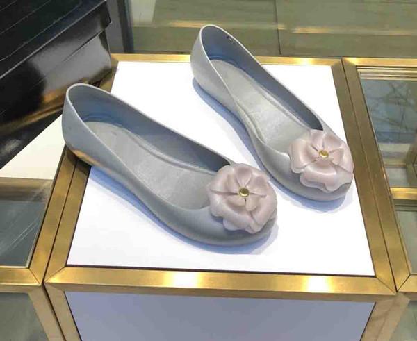 2019 nouvelle mode femmes designer xiang xiang chaussures simples de gelée chaussures mémoire molle Eva haute élastiques en mousse semelles taille 35-39 ck10