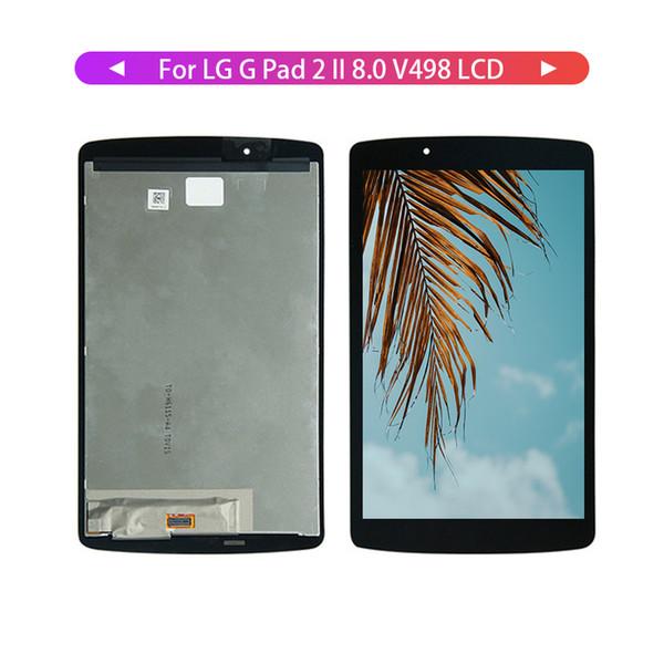 Высокое качество для LG G PAD 2 II 8.0 V498 сенсорный экран планшета стекло жк-дисплей в сборе с рамкой + бесплатные инструменты