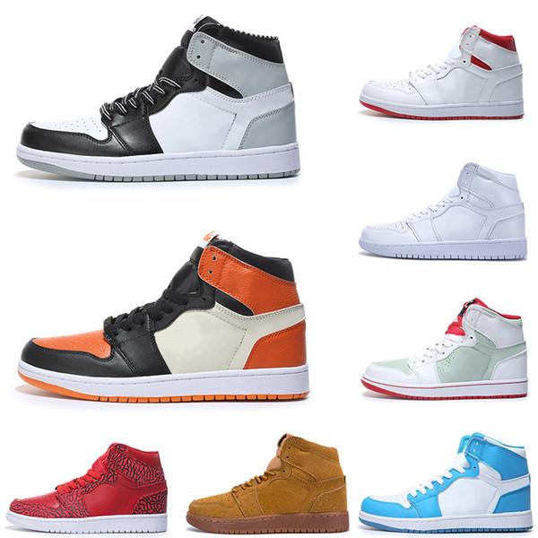 2019 Новый 1 Mid Top Multi-Color Мода Cross Rox Браун Майами Арт Базель Баскетбол обувь мода роскошные мужские женские дизайнерские сандалии обувь