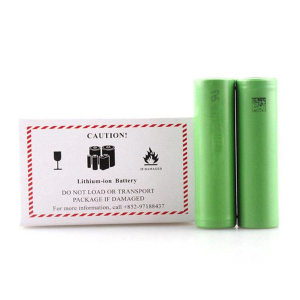 Authentique batterie rechargeable VTC6 VTC5 3000mAh 2600mAh 3.7V 30A Li-ion 18650 utilisant pour Ecig Box Mods 100% Origina EC042
