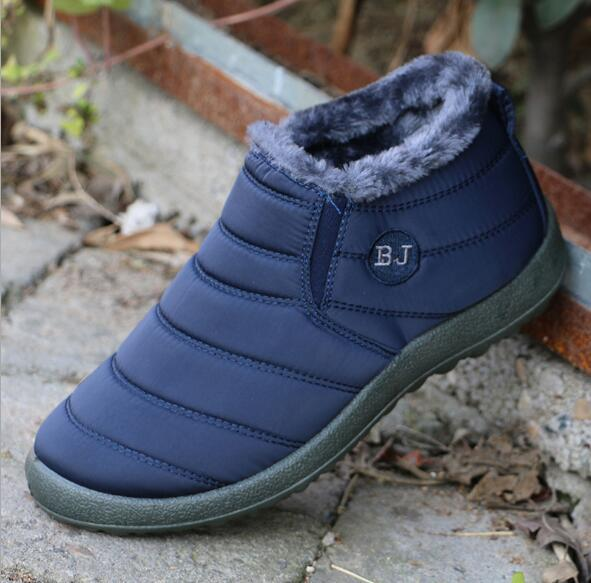 Free shipping 2018 winter warm cotton shoes soft bottom waterproof old Beijing cotton shoes Maokou two cotton handmade snow boots o
