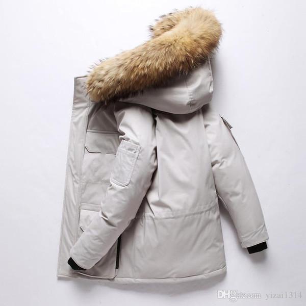 2019 HOT Nouveau Hommes Femmes Casual veste d'hiver Down Jacket Mens manteaux en duvet extérieur homme chaud de plumes Manteau d'hiver outwear Vestes Parkas
