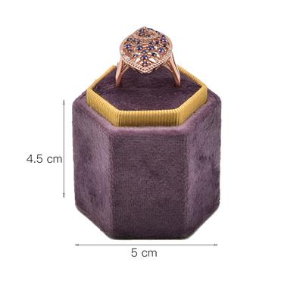 Ring Holder Big Purple
