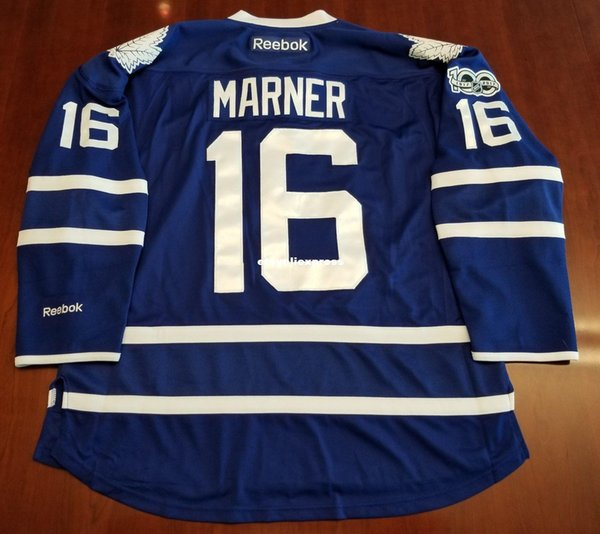 best service 2cc70 a7c38 2019 Wholesale Mitch Marner Toronto Maple Leafs Premeir Cheap Jersey 100  Year Patch Mens Retro Jerseys From Hytopjersey, $24.45   DHgate.Com