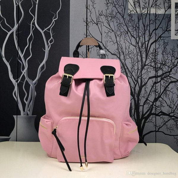 Designer backpack luxury handbags purses chain shoulder bags The Rucksack Trench Hamarket For Women Fabric Colleage Bags