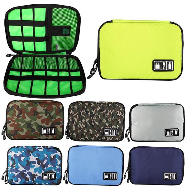 2018 New Brand Pouch Travel Bag Earphone Cable Organizer Bag USB Flash Drives Case Digital Storage