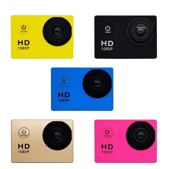 top popular New 1080P Helmet Sports DVR DV Video Car Cam DV Action Waterproof Underwater 30M Camera Camcorder Multicolor 2020