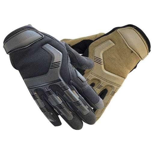 Outdoor Running Hiking Safe Gloves Tounch Screen Wear-resistant Anti-skid Gloves Cycling Sports Gloves Mittens For Men