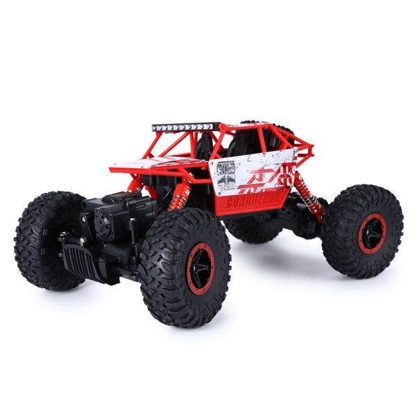 HB P1802 2.4GHz 1:18 Scale RC 4 Wheel Drive Bigfoot Car Remote Control Toy RC Car Model Off-Road Vehicle Toy
