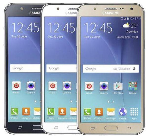 Remodelado Original Samsung Galaxy J7 J700F Dual SIM 5.5 polegada Octa Core 1.5 GB RAM 16 GB ROM 13MP 4G LTE Desbloqueado telefone