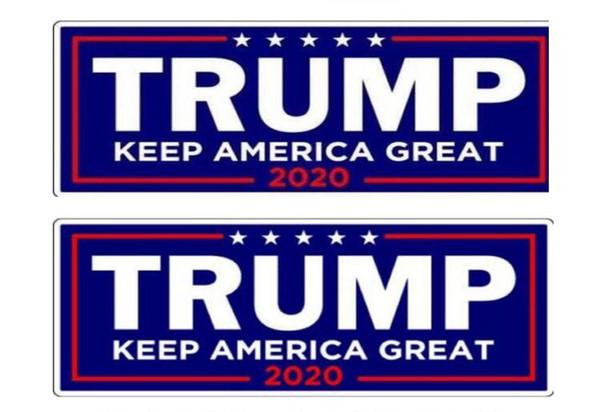 Новый 2020 президентские выборы в США Трамп бампер наклейки на бампер автомобиля наклейки с надписью Дональд Трамп президент наклейки 23*7.6 см