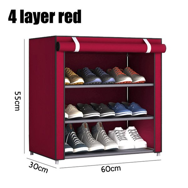 4 layer red