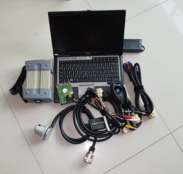 MB-Stern C3 mit Komplettsatz 7 Kabel + Xentry / Das HDD + für Dell D630 Diagnose-Laptop-Sterndiagnose für Benz