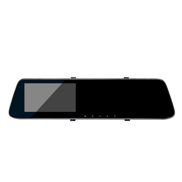 4.3inch double record voiture enregistreur vidéo de miroir de vue arrière de vitesse d'appareil-photo HD de Carcorder d'avertissement avec la voiture Night Vision Q1 dvr