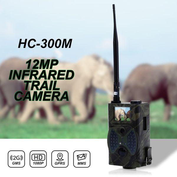 HC300M 12MP 940nm Visión Nocturna Cámara de Caza MMS Cámara de Rastro de Caza por Infrarrojos Mms Gsm GPRS 2G Trampa Juego Cámara Control Remoto
