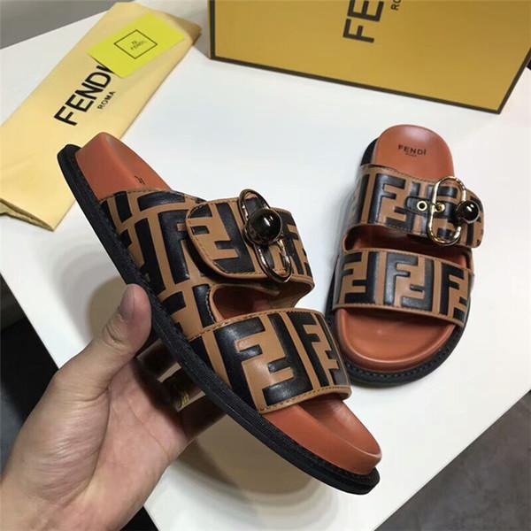 CHAUD Italie Femmes Hommes Diapositives Été Designer Plage Intérieur Plat G Chaussures Marque Hommes Sandales Pantoufles Maison Flip Flops Avec Boîte