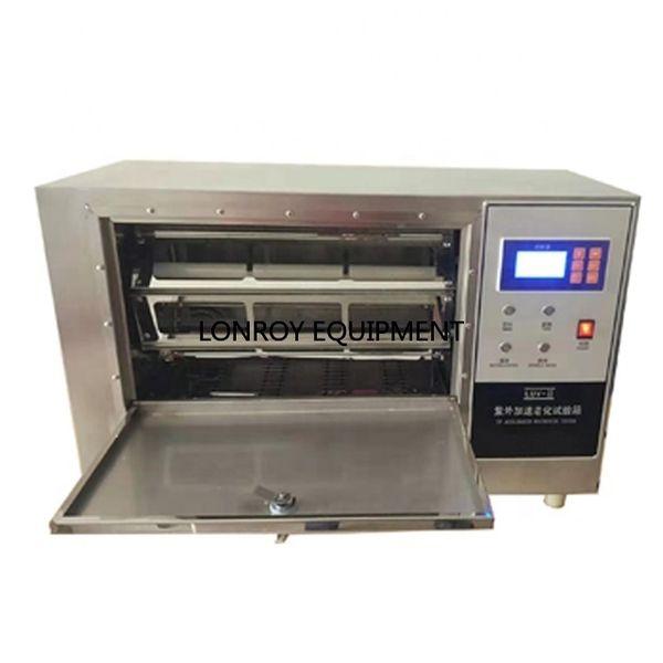 ISO11341 ISO4892 ASTM D3451 ASTM D3794 Kleine UV Wetter Tester / Kleine UV-Alterung Tester