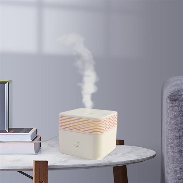 120 мл эфирное масло аромат диффузор электрический увлажнитель воздуха usb mini Square Mist Maker теплый ночной свет для спальни дома