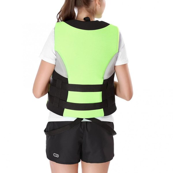 floating vest kayaking swimming fast drying safety buoyancy life jacket vest reusable with whistle swiming equment