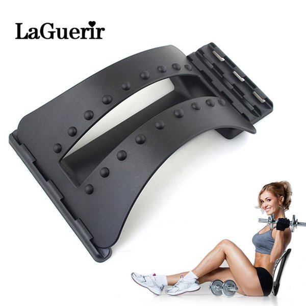 Back Massager Stretcher Fitness Massage Equipment Stretch Relax Stretcher Lumbar Support Spine Chiropractic For Drop Shipping