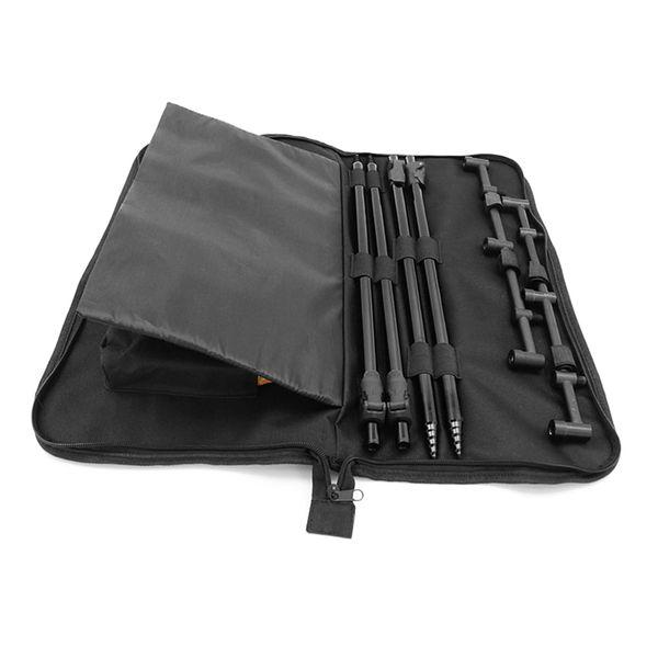 Padded Fishing Tool Storage Bag Fishing Buzz Bar Organizer Bait Alarm Pouch Fisihing Bank Stick Bag Pesca #664201