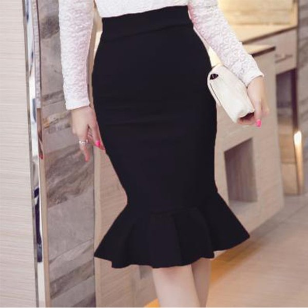 casual harajuku womens summer female skirt above knee length clothes streetwear skirt women pleated skirts fashion clothing 2019, Black