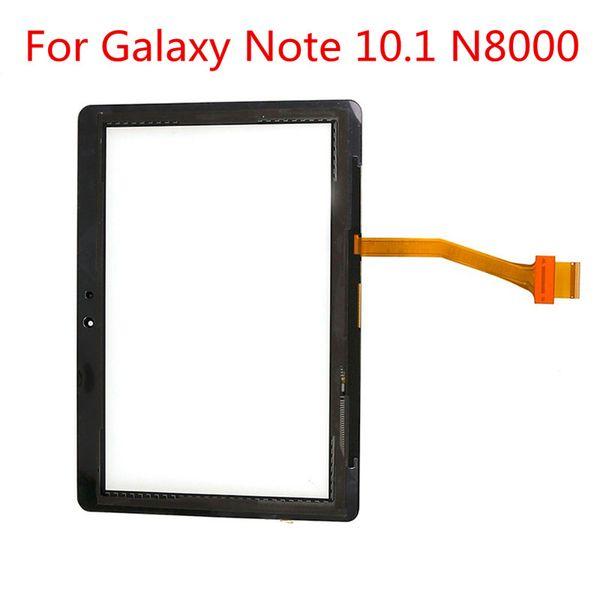 Für Samsung Galaxy Note 10.1 N8000 P5100 P5110 N8010 GT-N8000 GT-P5100 Tablett-Touchscreen-LCD-Bildschirm