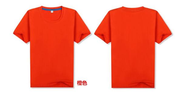 mens tshirt uomini della maglietta magliette magliette arancione 84139/516965