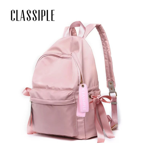Backpacks To School Pink Bow Cute Backpacks College Schoolbag