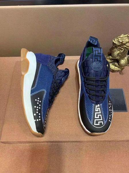 Lates style Designer Reaction Chaîne Hommes Casual Chaussures Femmes Sport Baskets Mode Hauteur Augmentant Casual Chaussures Baskets zz28