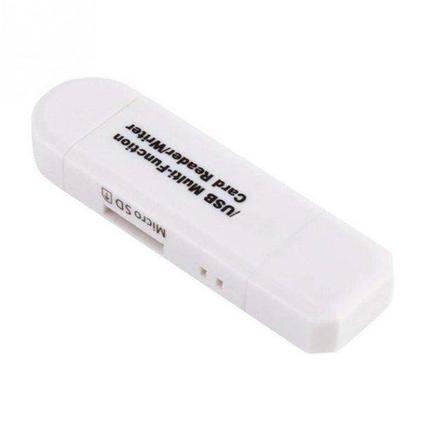 SZAICHGSI 10 pçs / lote Tudo em Um Leitor de Cartão de Memória MINI USB 2.0 OTG Micro SD / SDXC Adaptador Leitor de Cartão TF para PC Computador Portátil