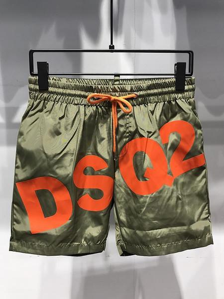 19ss designers DS2 Letter print Board Shorts Mens boardshort man Summer Beach surf Shorts Pants High-quality Men Swim Shorts D01