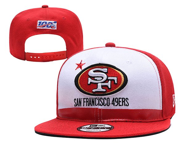 49ers New 2019 Black Draft On-Stage Official 59FIFTY Mesh Fresh Draft Red On-Stage Logo Omaha Fitted Hat White Ball Caps