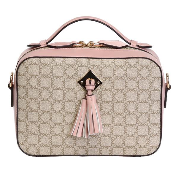 Дизайнерские сумки высокого качества с роскошным узором женские сумки Известная женская кисточка Сумка через плечо Модная кожаная сумка через плечо